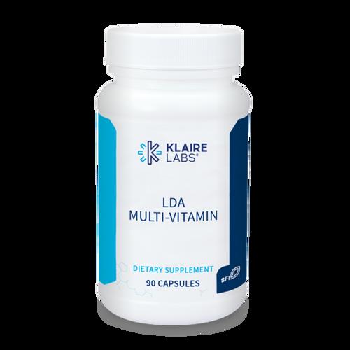 "KLAIRE --- "" LDA Multi-Vitamin"" --- High Potency Comprehensive MultiVitamin - 90 Caps"