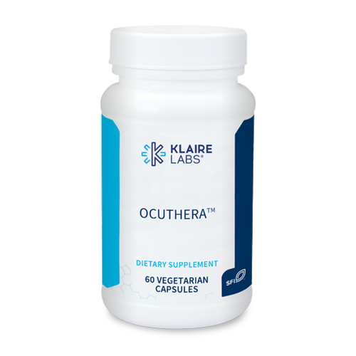 """KLAIRE --- """"OcuThera"""" --- Complete Eye Protection Support with Anti-Oxidants Support - 60 Caps"""