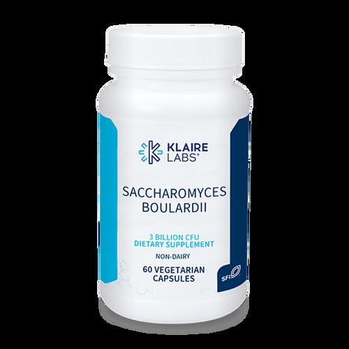 """KLAIRE --- """"Saccharomyces Boulardii"""" --- Large Bowel (Colon) Probiotic & C.Diff. Prevention Support - 60 Caps"""