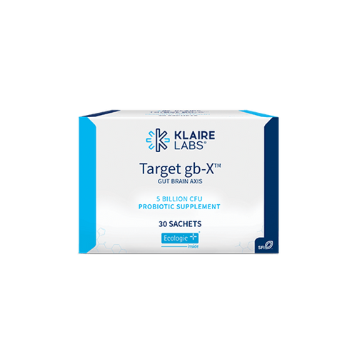 """KLAIRE --- """"Target GB-X"""" --- Gut-Brain Axis Probiotic for Mood Support - 30 Sachets"""