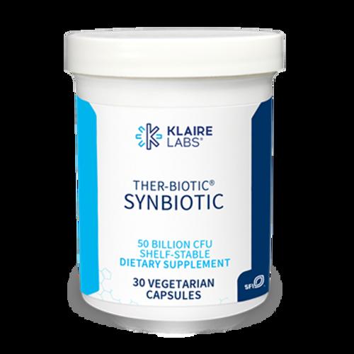 "KLAIRE --- ""Ther-Biotic Synbiotic"" --- Low-FODMAP Support - 30 Caps"
