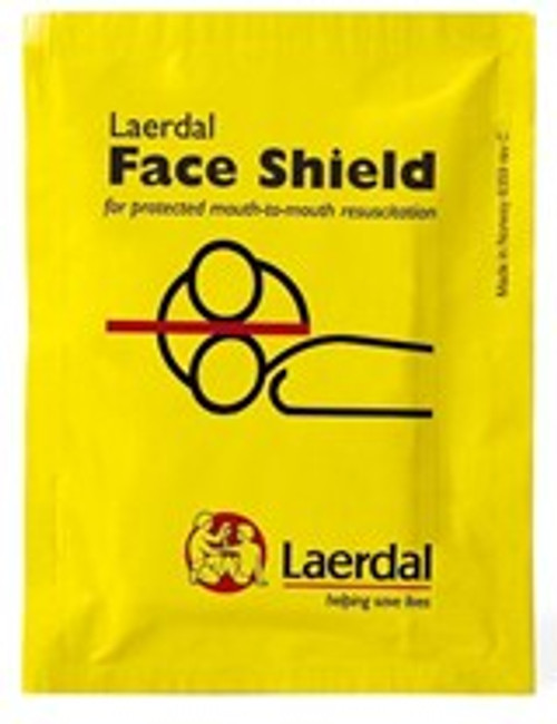 CPR Face Shield - Compact & Disposable - Pack of Three