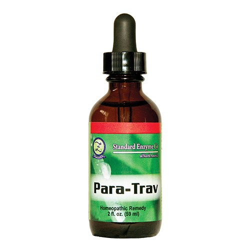 "Standard Enzyme --- ""Para-Trav"" - Homeopathic Anti-Parasitic"