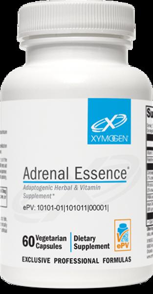 """Xymogen  ---  """"Adrenal Essence"""" ---   Adaptogenic Adrenal Support - 60 or 120 Veggie Caps"""