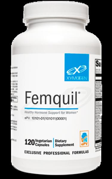 "Xymogen  ---  ""Femquil®"" ---  PMS & PeriMenopause Support - 120 Veggie Capsules"