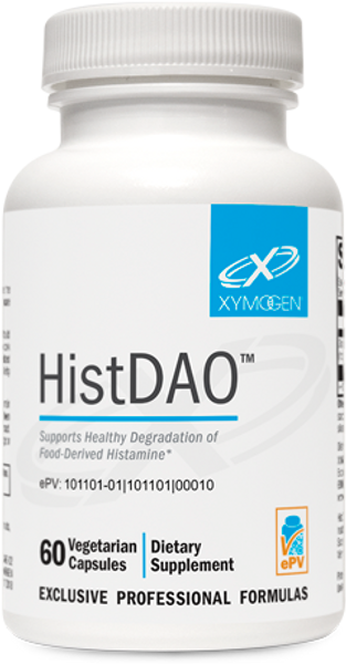 """Xymogen  ---  """"HistDAO™"""" ---   Food Derived Histamine Degradation Support  - 60 Capsules"""