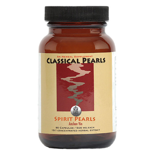 """Classical Pearls --- """"Spirit Pearls"""" --- TCM Marked Anxiety & Panic  Support Formula - 90 Veggie Caps"""