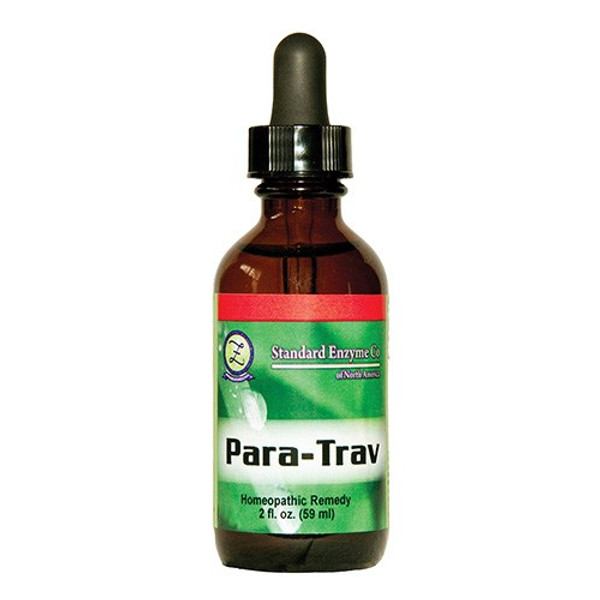 """Standard Enzyme --- """"Para-Trav"""" - Homeopathic Parasite Support"""