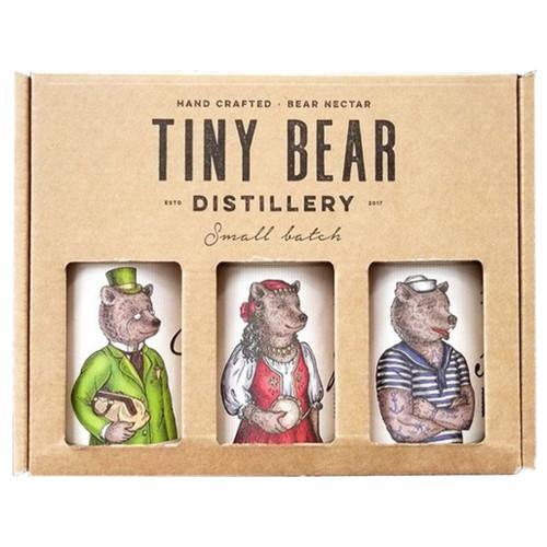 Tiny Bear Trio (Gin + Gift Box) 3x200ml