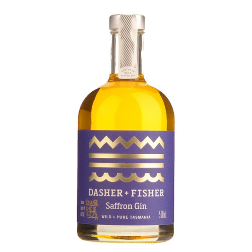 Dasher & Fisher Saffron Gin 500ml