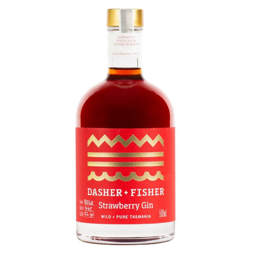 Dasher & Fisher Strawberry Gin 500ml