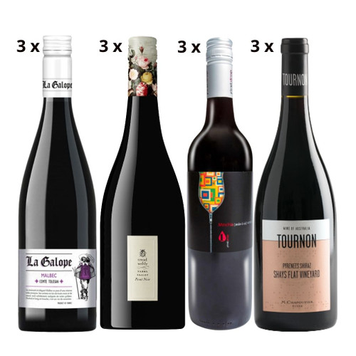 Once Upon A Wine Mixed Dozen Reds