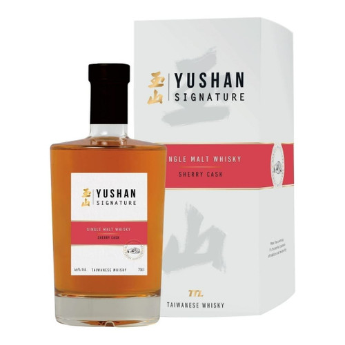 Yushan Signature Sherry Cask Whisky 46% 700ml