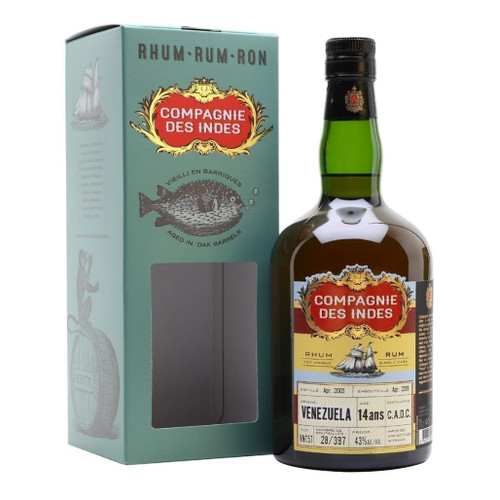 Compagnie des Indes Rum Venezuela 14 years 43% 700ml