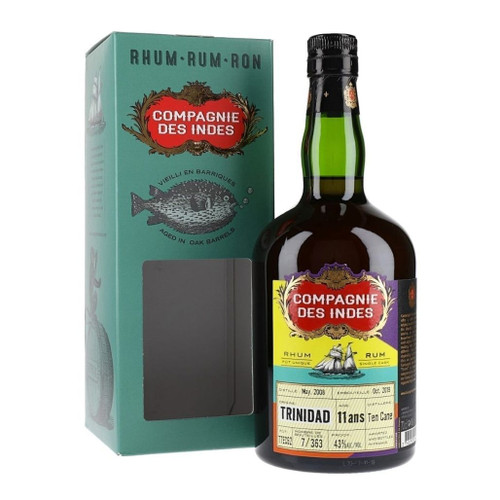 Compagnie des Indes Rum Trinidad 11 years 43% 700ml