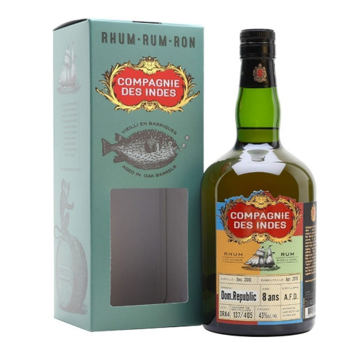 Compagnie des Indes Rum Dominican Republic 8 years 43% 700ml