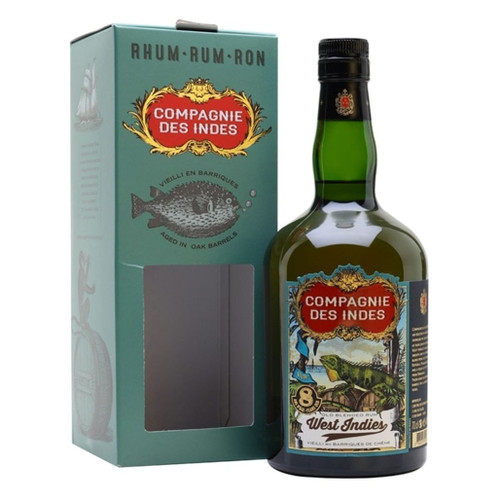 Compagnie des Indes Rum West Indies 8 years 40% 700ml