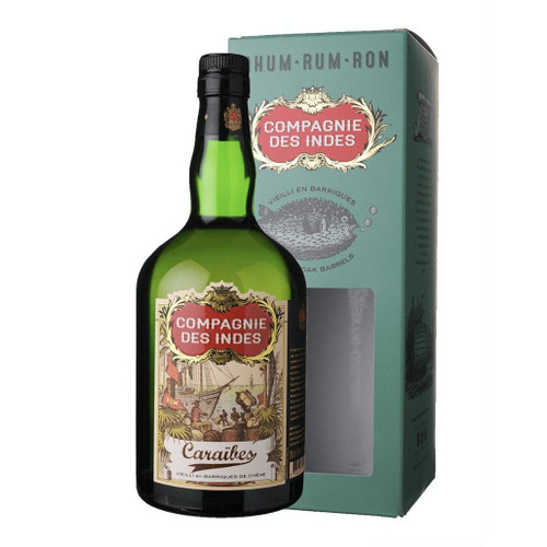 Compagnie des Indes Rum Caraibes 3-5 Years 40% 700ml