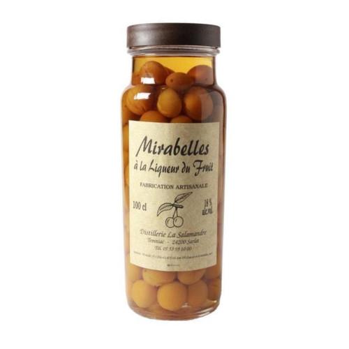 Salamandre Mirabelles a la Liqueur (Cherry Plums in liqueur) 18% 1000ml