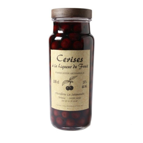 Salamandre Framboises a la Liqueur (Raspberries in Liqueur) 18% 1000ml