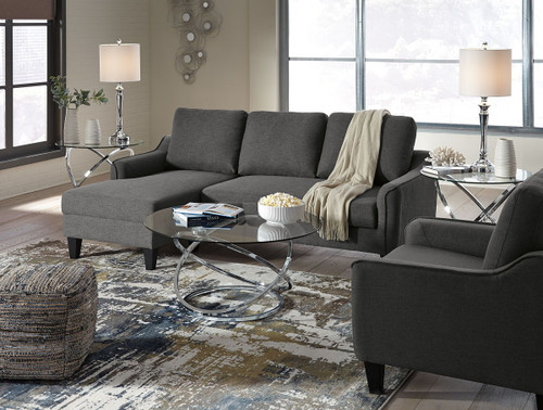 Tremendous Ashley Aldie Nuvella Gray Queen Sofa Chaise Sleeper On Sale Home Interior And Landscaping Ologienasavecom
