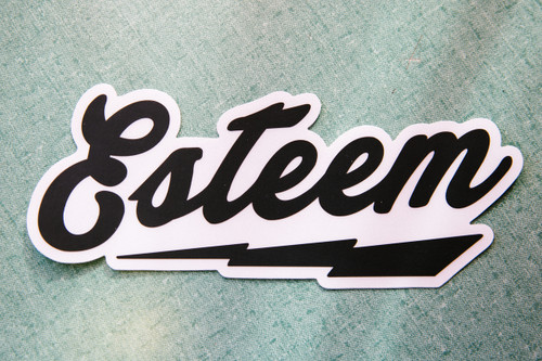 Esteem Bolt Sticker