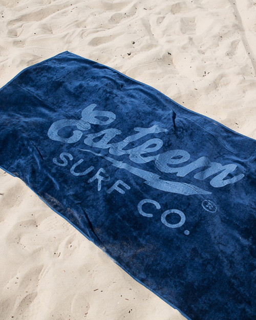 Esteem Beach Towel - Navy