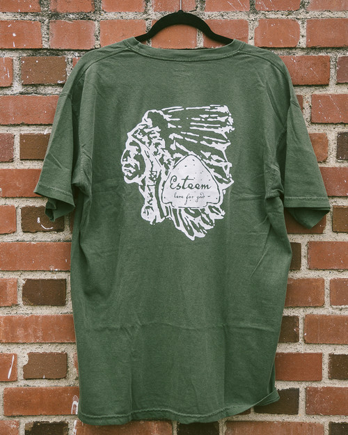Chief Tee - Forest Green
