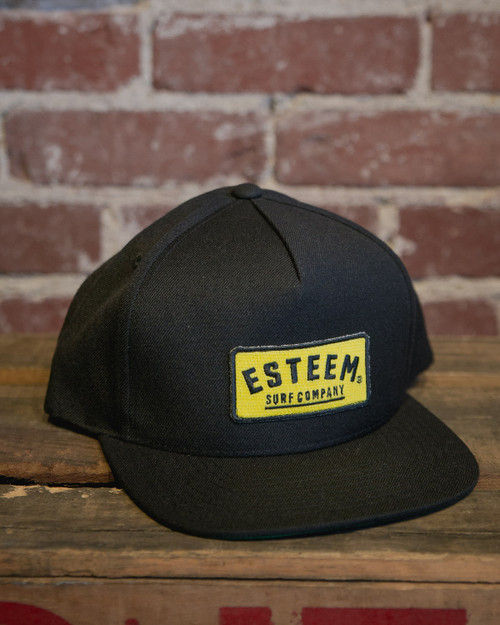 Corporate Snapback - Yellow/Black
