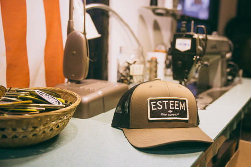 Throwback Trucker - Brown/Black