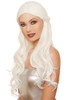 long white wavy wig, Elf wig