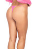 1pc Sequin Micro Bottoms - Hot Pink