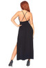Brushed Jersey Lace Top Gown