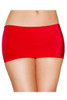 Red Low Rise Mini Skirt
