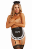 Naughty french maid outfit with dirty word apron