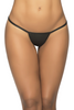 Shop this women's sexy wet black y-back thong g-string panty for dance and clubwear
