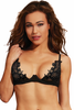 Shop this women's beautiful black galloon lace up cup underwire bra with galloon lace