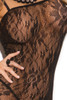Shop this women's black rose lace body stocking lingerie