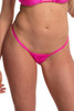 Shop these hot pink twinkle thong bikini bottoms with v style back