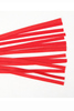 Shop this red leather whip with soft leather strips