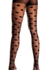 Shop sheer polka dot tights