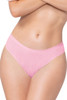 Shop this pink shadow stripe thong panty