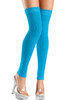 Shop these turquoise thigh high leg warmers