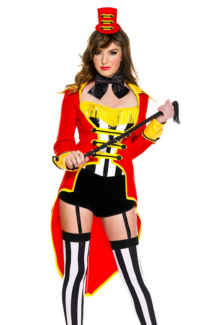 5f3c9587bd307 Sexy Circus Ringmaster Costume | Free Shipping Over $49 | Julbie