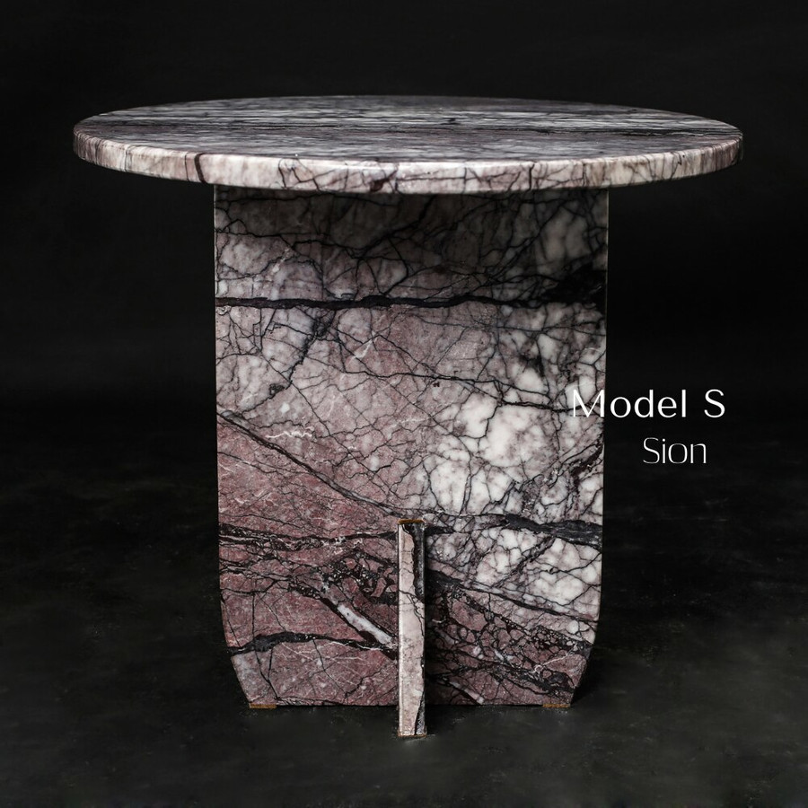Aquila and Co Model S in Sion Artisan Marble Coffee Table
