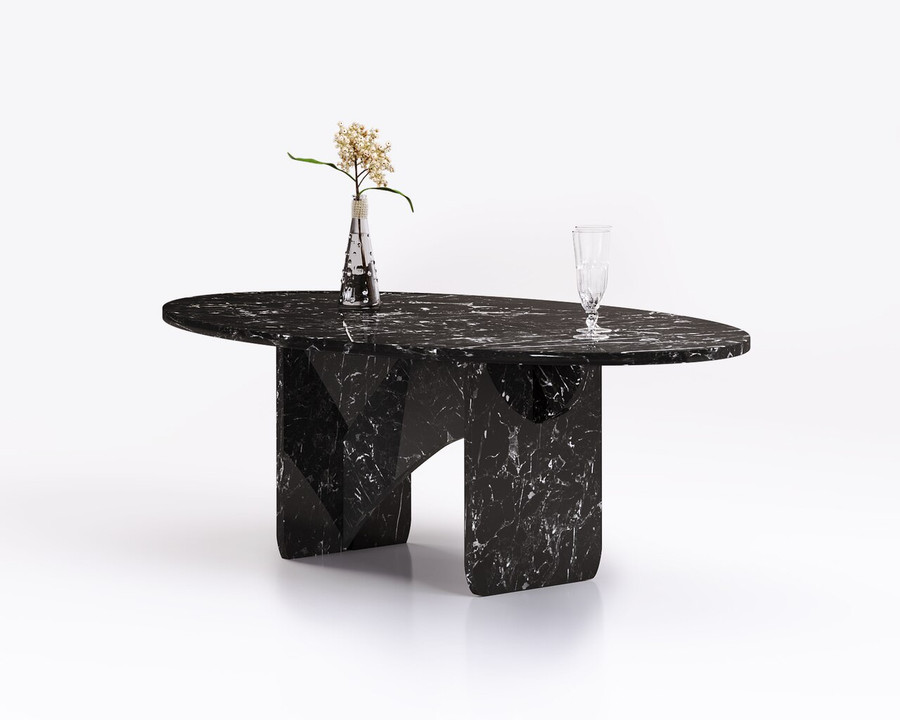Aquila and Co Model SL in Aiden Artisan Marble Coffee Table
