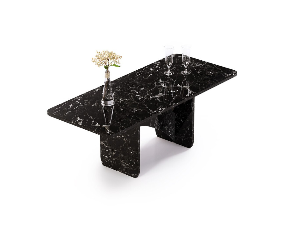 Aquila and Co Model Q in Aiden Artisan Marble Coffee Table