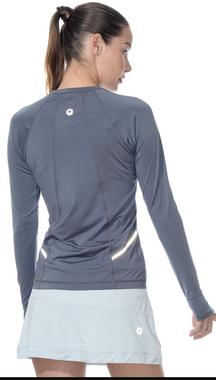 BloqUV Women's Reflective Waist Top T-Shirt