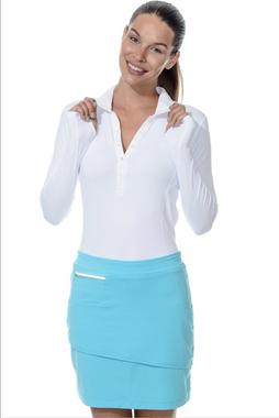 BloqUV Women's UPF 50+ Sun Protection Active Collared Shirt