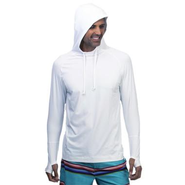 BloqUV Men's UPF 50+ Sun Protection Active Hoodie